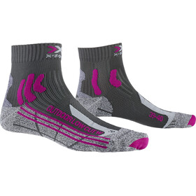 X-Socks Trek Outdoor Chaussettes Femme, anthracite/fuchsia